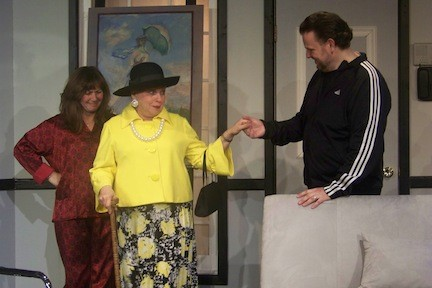 "BroadHollow Theatre Company's ""Social Security,"" a comedy about two married art dealers struggling with their impossible in-laws, is playing in Elmont through Saturday."