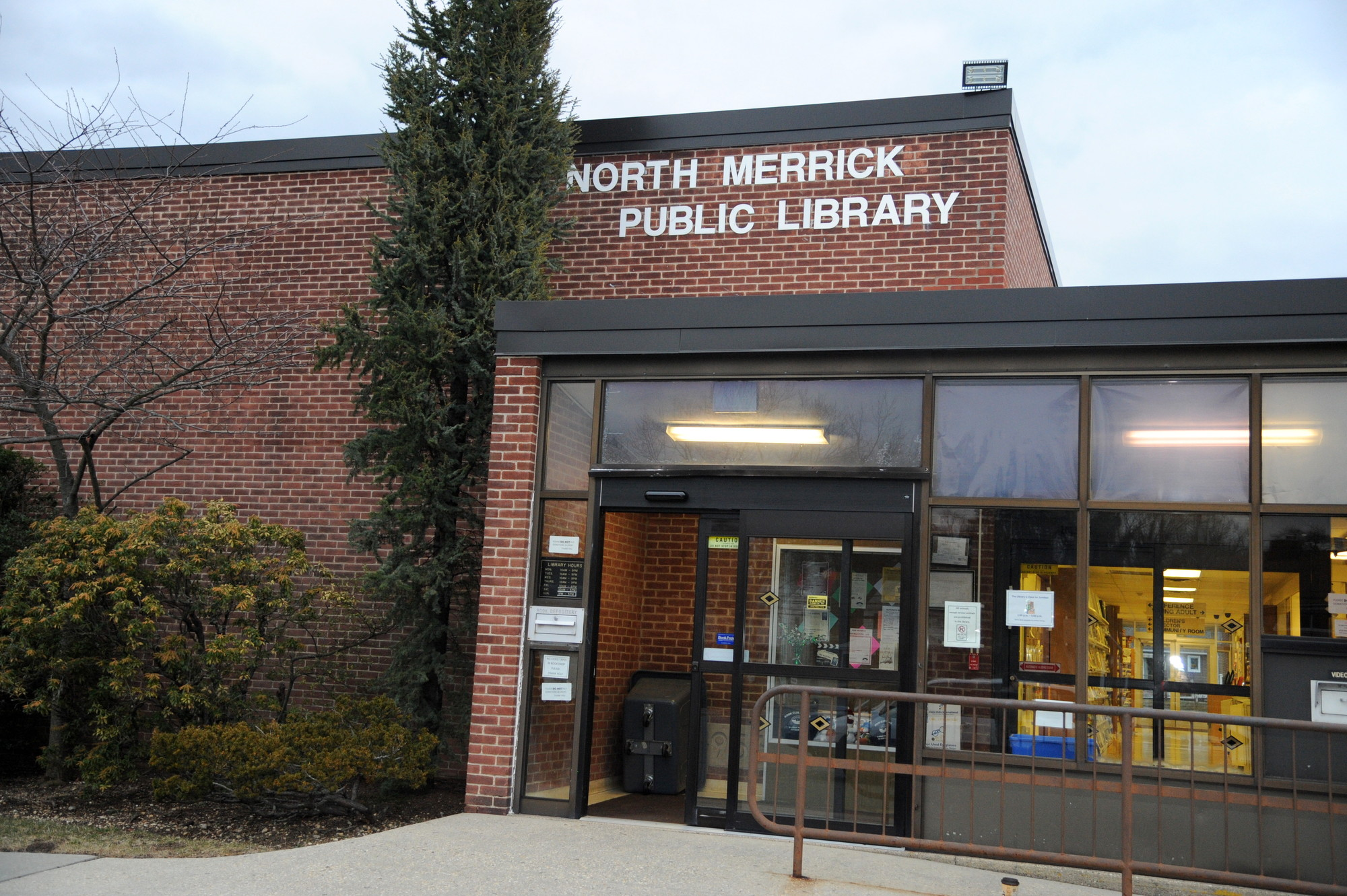 North Merrick residents passed the North Merrick Public Library's budget for 2014-15. The budget includes more funding for the Library's operating expenses and employee costs. It also marginally increases funding for services. It decreases funding for materials.