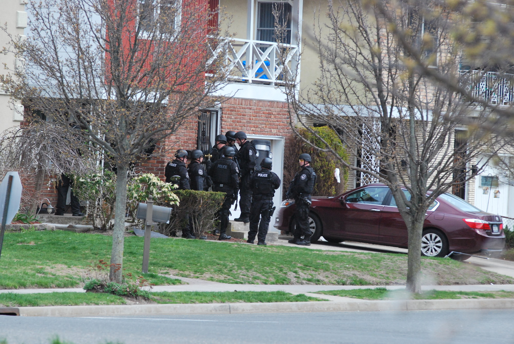 SWAT entered the Laurelton home on Tuesday, in what was determined to be a hoax.