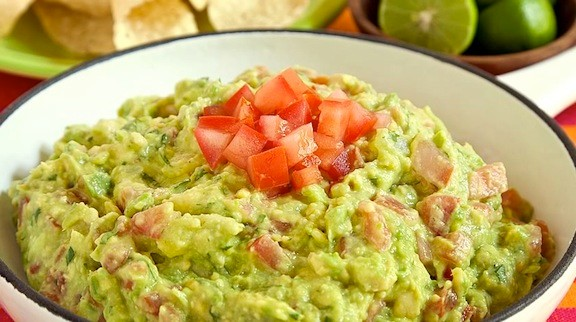 Bring on the guacamole. Add some homemade tortilla chips to really wow your guests. This zesty version is a fiesta for your palate.