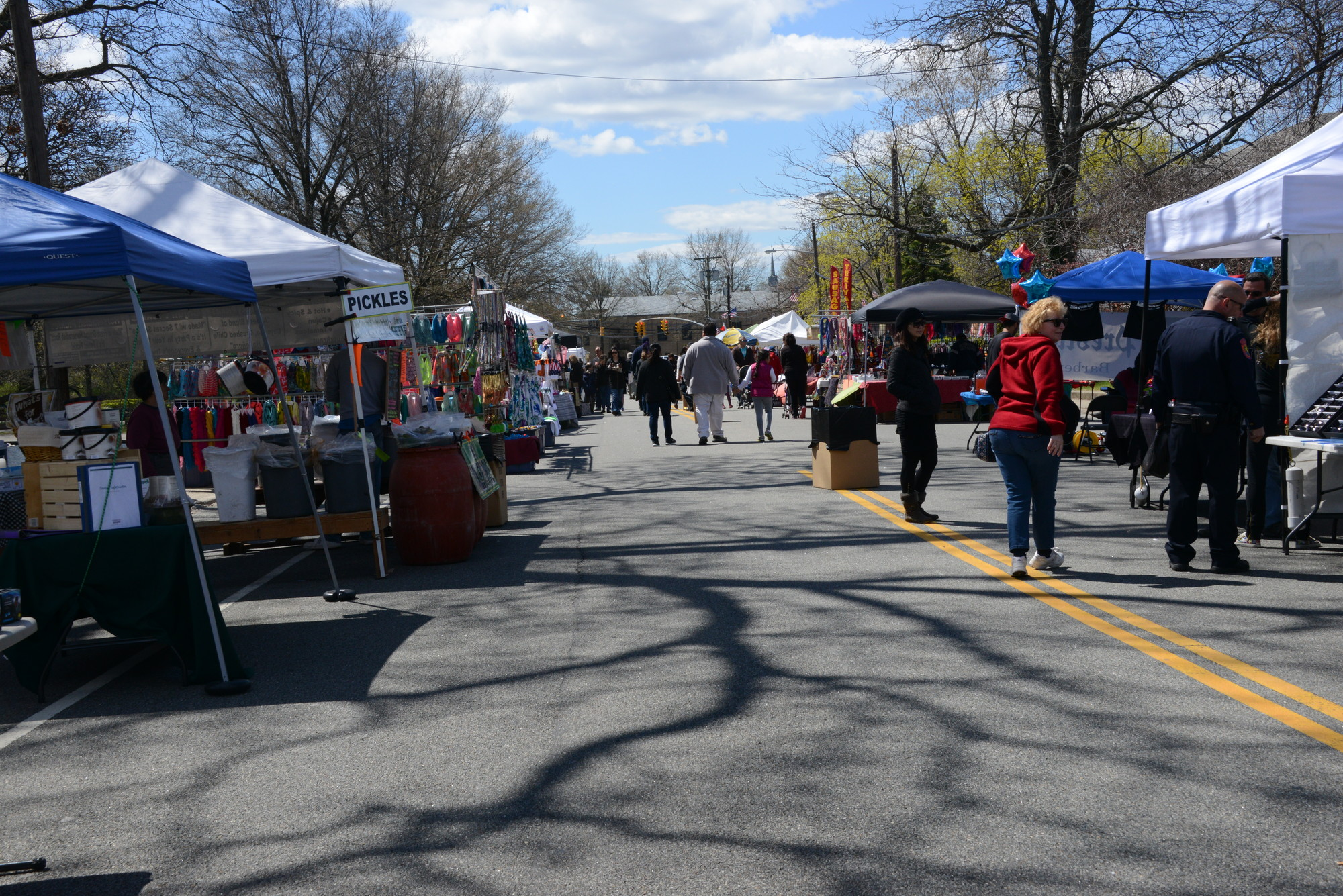 Guests visited plenty of booths and vendors on Nassau Boulevard at the West Hempstead Street Fair on April 27.