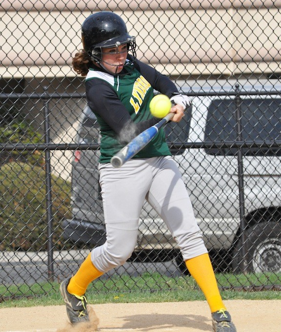 Lynbrook's Kacie Curran had two hits and scored twice in last Friday's 8-7 home victory over Valley Stream South.