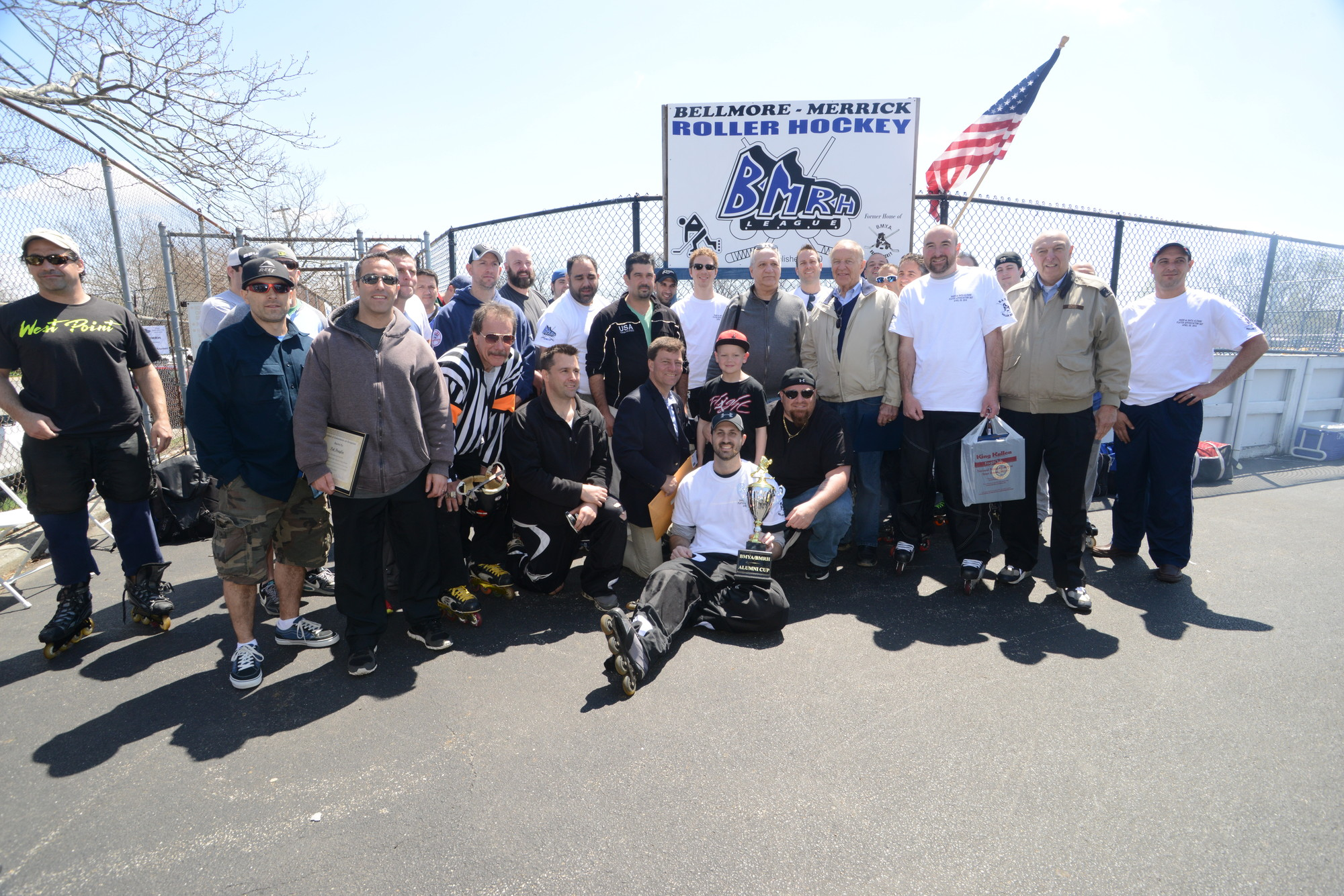 League alumni came to Bellmore from various parts of the country for Saturday�s festivities.