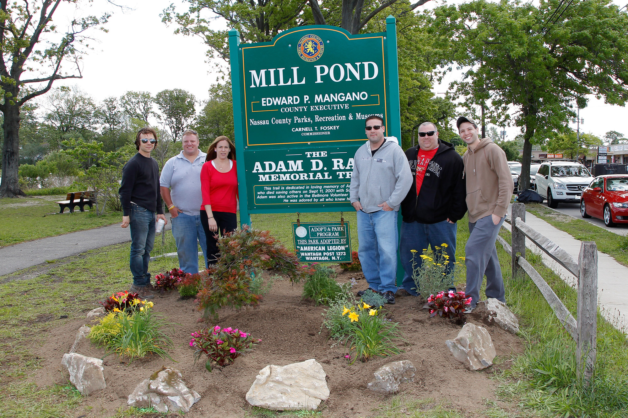 Last May, the South Bellmore Civic Association planted at Mill Pond Park. They will be continuing their efforts to beautify Bellmore by sponsoring their first spring cleanup event on Saturday, May 3.