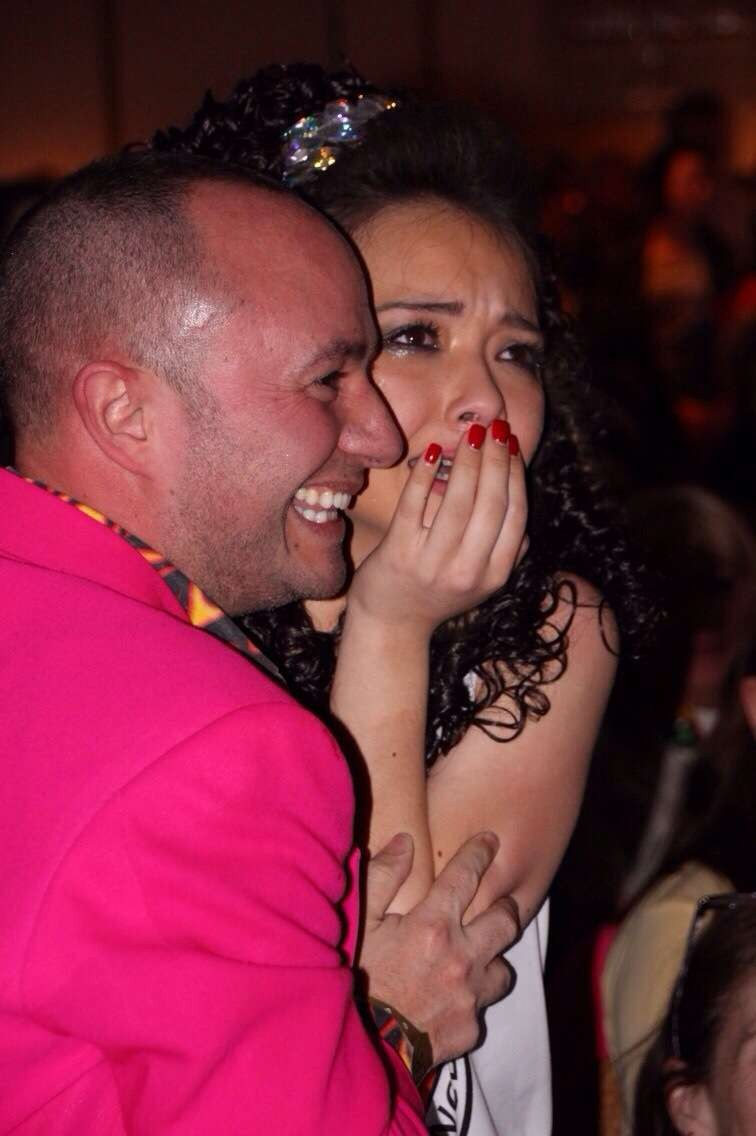 O�Rourke welled up with tears when she was named this year�s Irish dance world champion on April 15.
