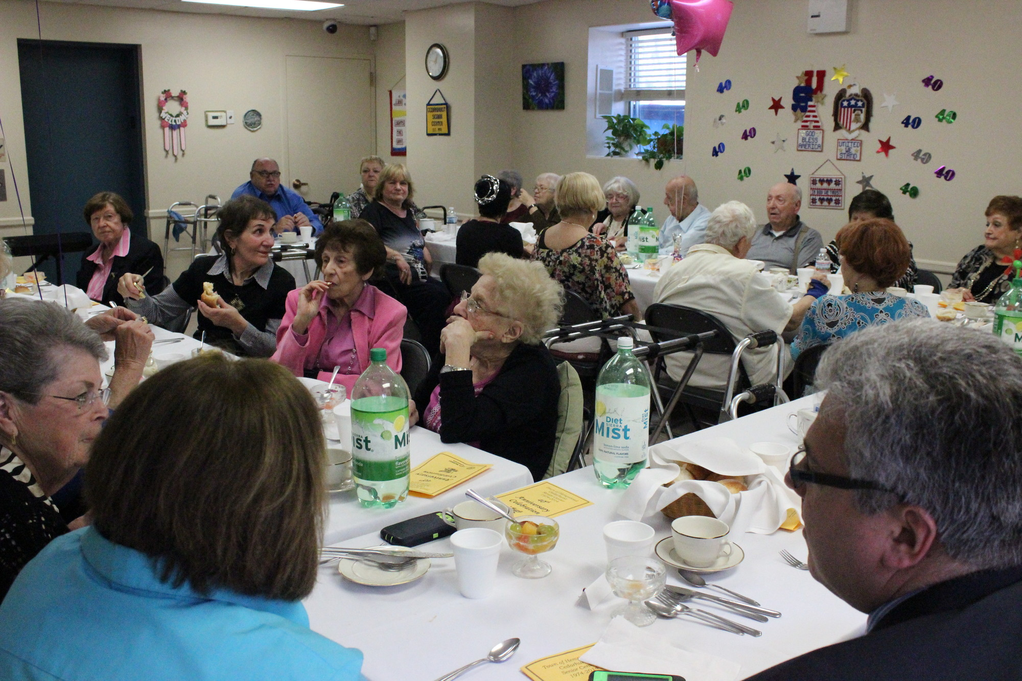 The Cedarhurst Senior Center in Village Hall is a home away from home, where members form friendships and take part in a variety of activities.