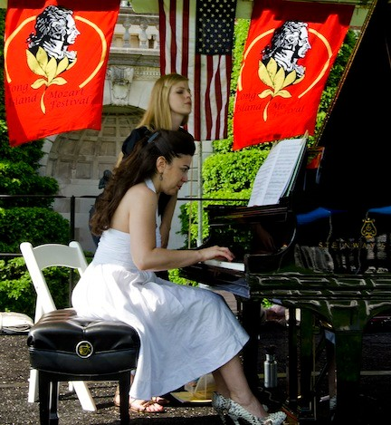 Bring a blanket and chair and settle in for a glorious weekend of music at the annual festival devoted to Mozart.