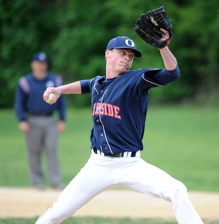 Pat Broder was lights-out in relief for the Sailors in the second game of last week's semifinal playoff series against Plainview.