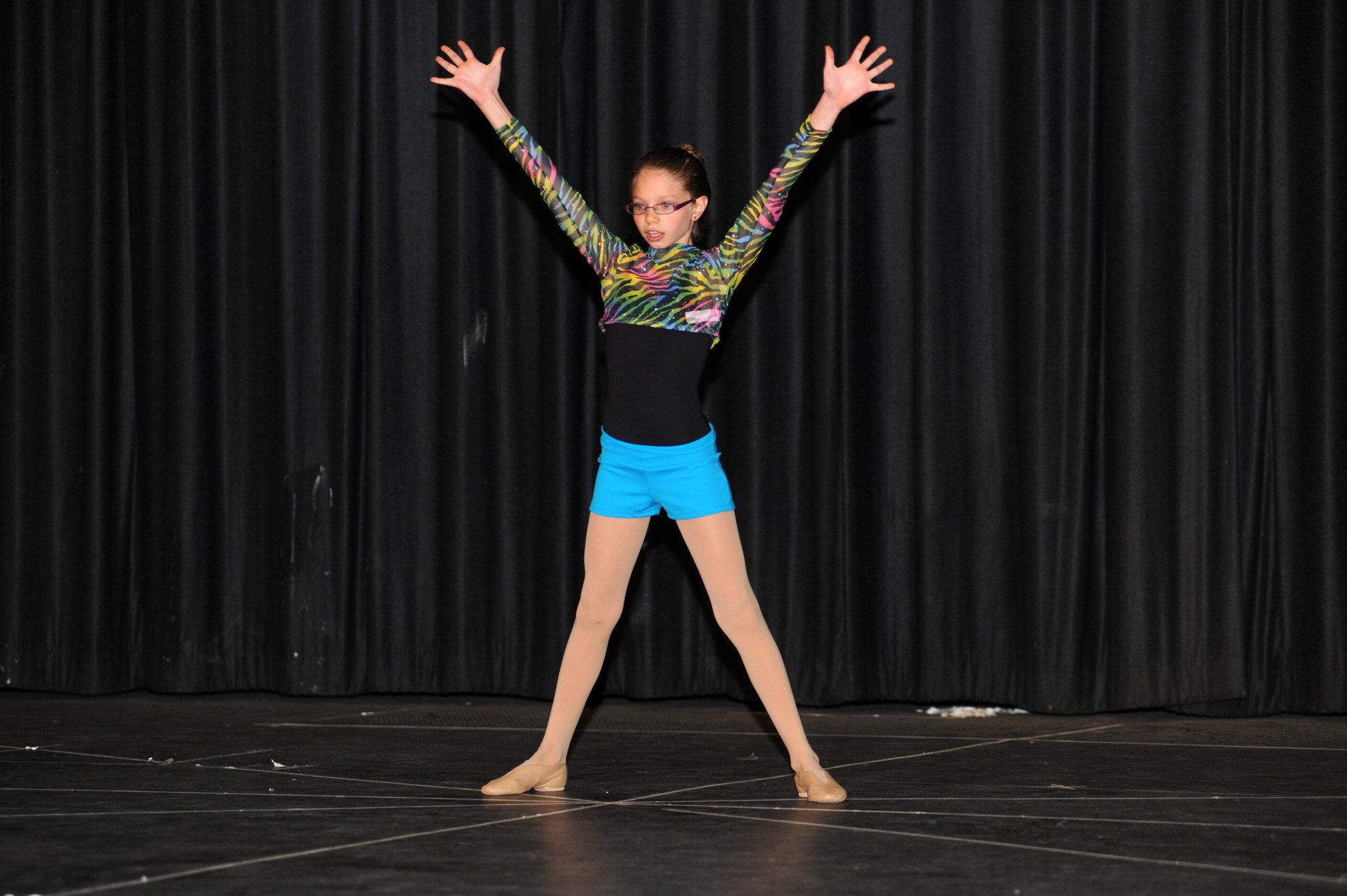 Lilli-Ann Greene lent a dance performance to the show.