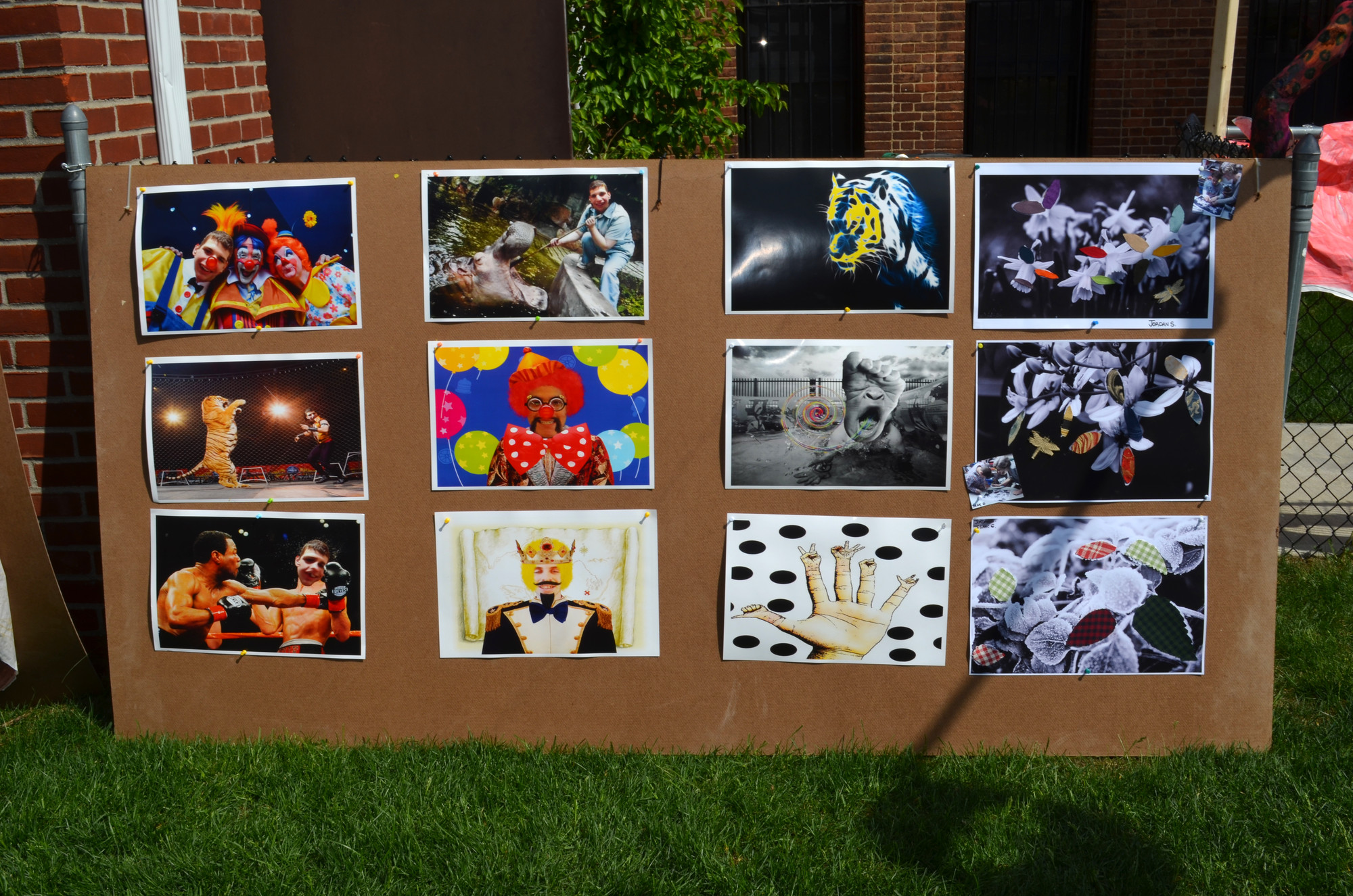 Kulanu students artwork was on the display at the Cedarhurst's school spring festival..