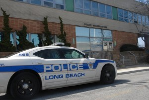 Long Beach police are investigating a shooting at the Channel Park Homes last Sunday.