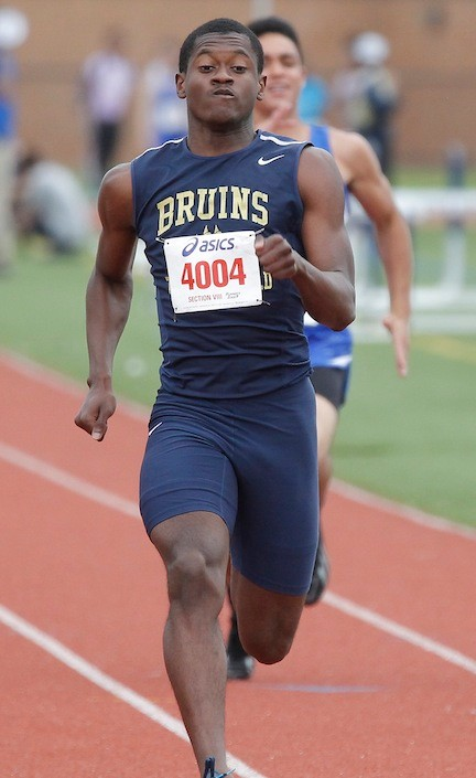 Pascal Bastien continued his outstanding performance in track and field by winning Nassau Class AAA titles in two events.