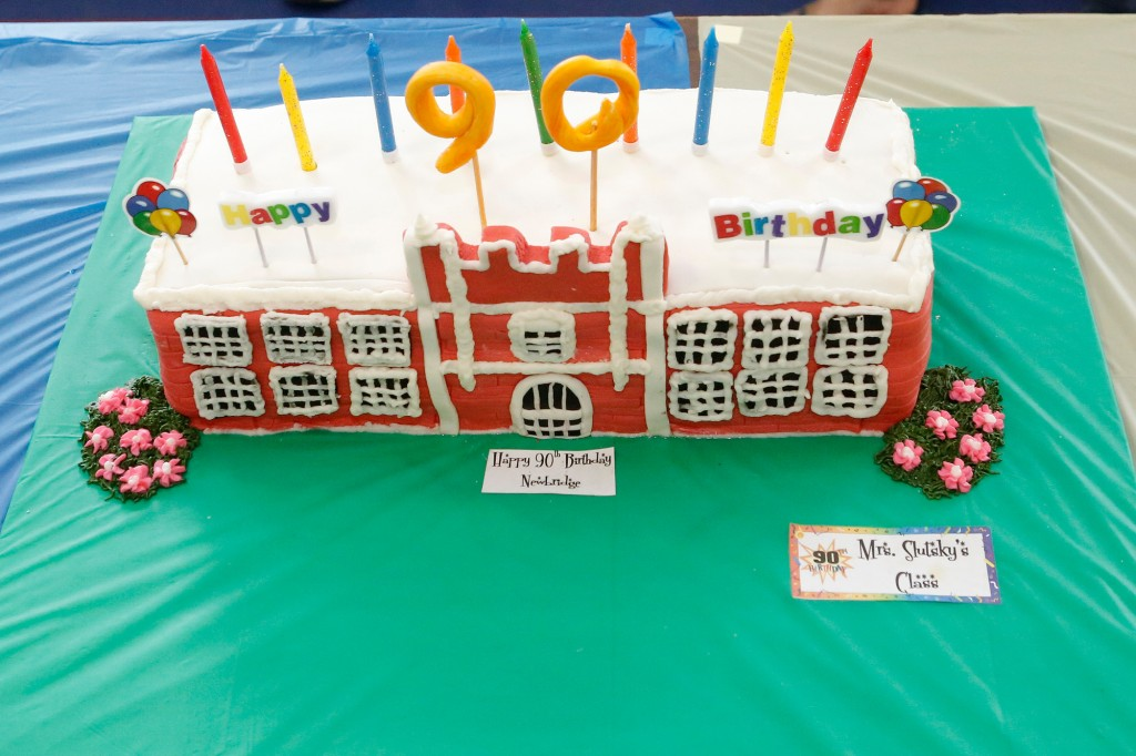 Newbridge Road Elementary School recently turned 90 years old, and the community came together for a birthday celebration to remember the past.