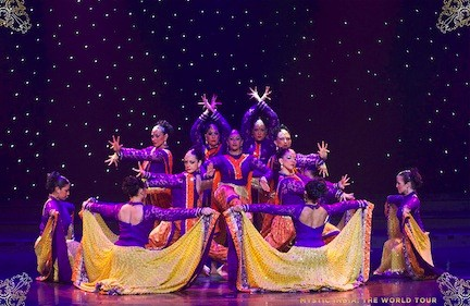 "Enjoy a bit of Bollywood when ""Mystic India: The World Tour"" stops in Freeport."