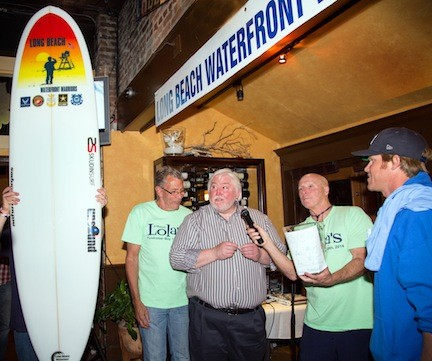 Lola's owners Richard and Marco McCarthy, left,  Jerry Snell and Cliff Skudin.