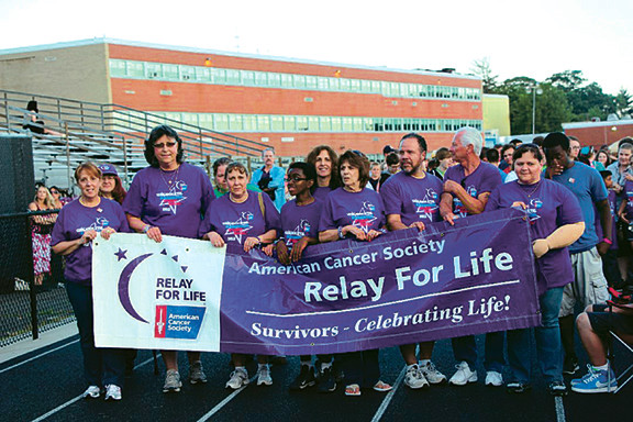 Baldwin residents are dusting off their walking shoes in preparation for the community's sixth annual Relay For Life event, which will take place on Saturday from 11 a.m. to 11. p.m. at Baldwin Park.