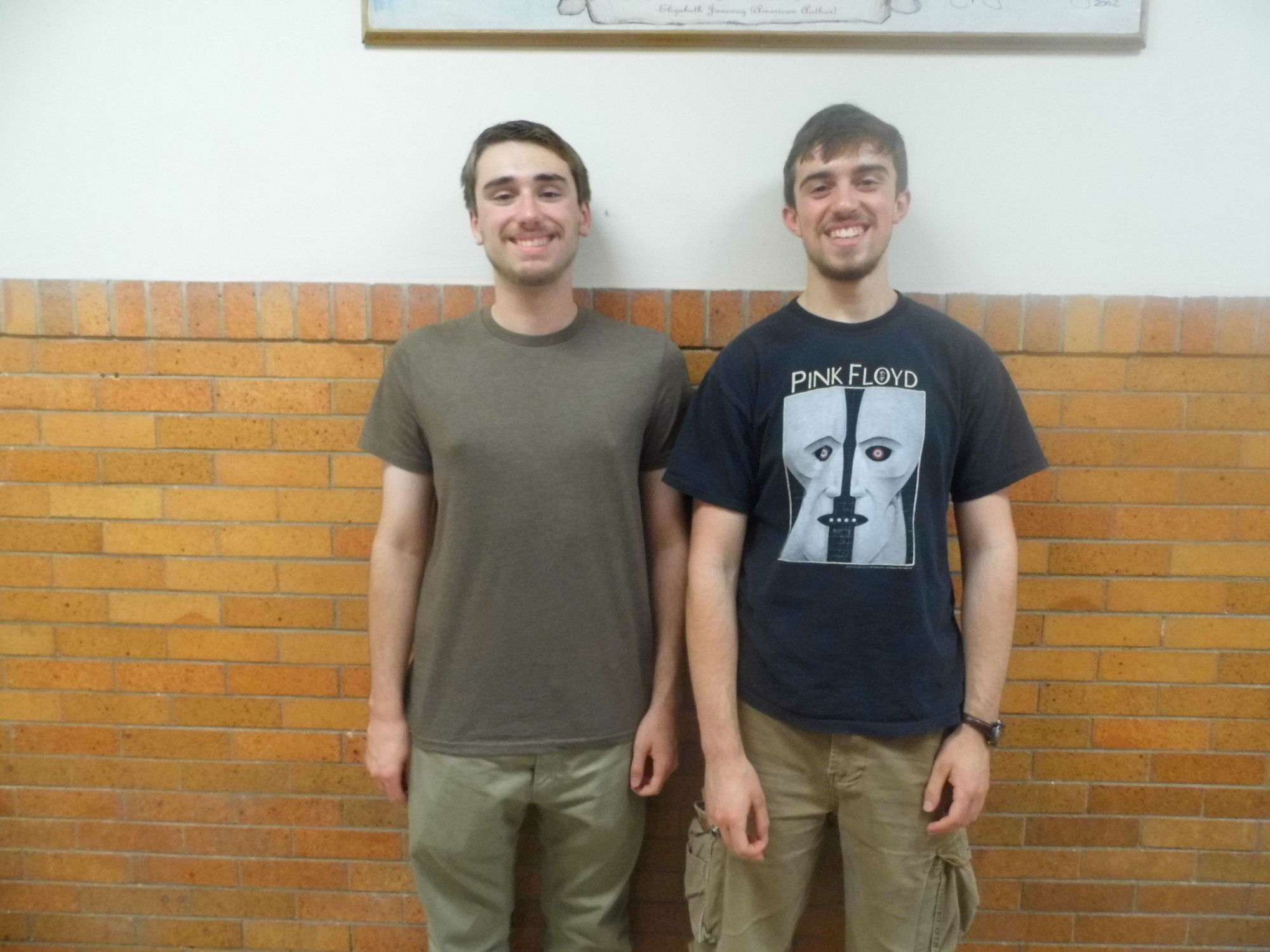 Daniel Sullivan, left, and Robert Myrick are the salutatorian and valedictorian for the Sewanhaka High School Class of 2014.