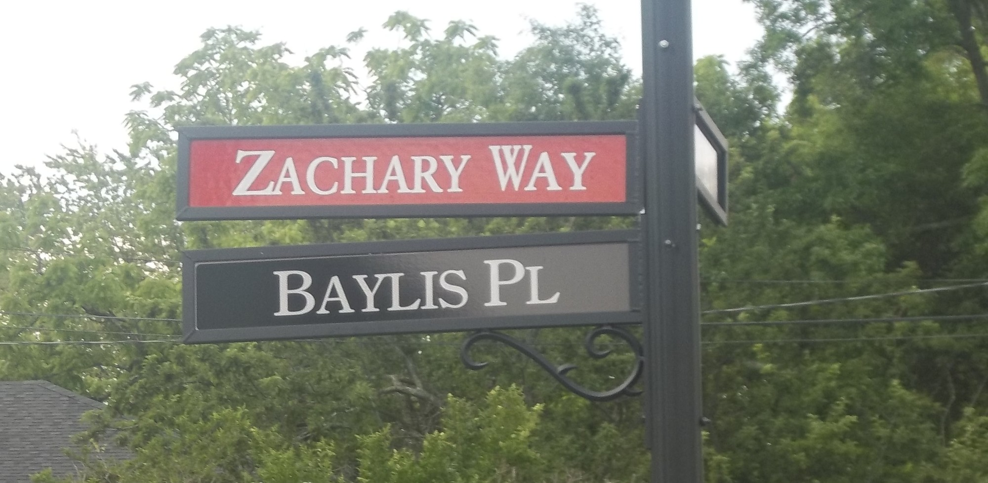 Zachary Way is located across the street from Lynbrook South Middle School, where Zachary attended as a sixth grader.