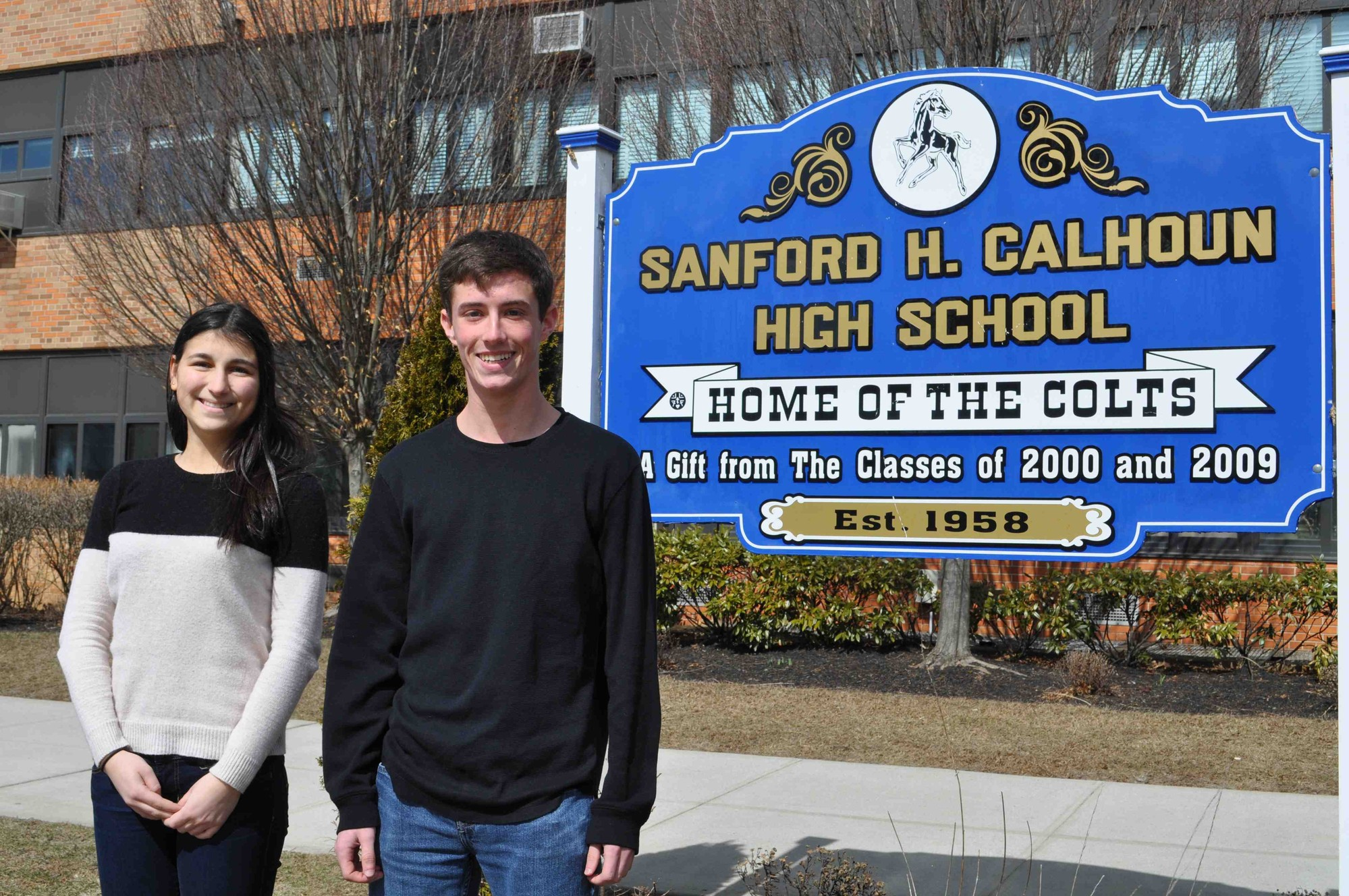 Katherine Kustas and Alexander Boyd have been named valedictorian and salutatorian, respectively, for Calhoun High School's class of 2014.