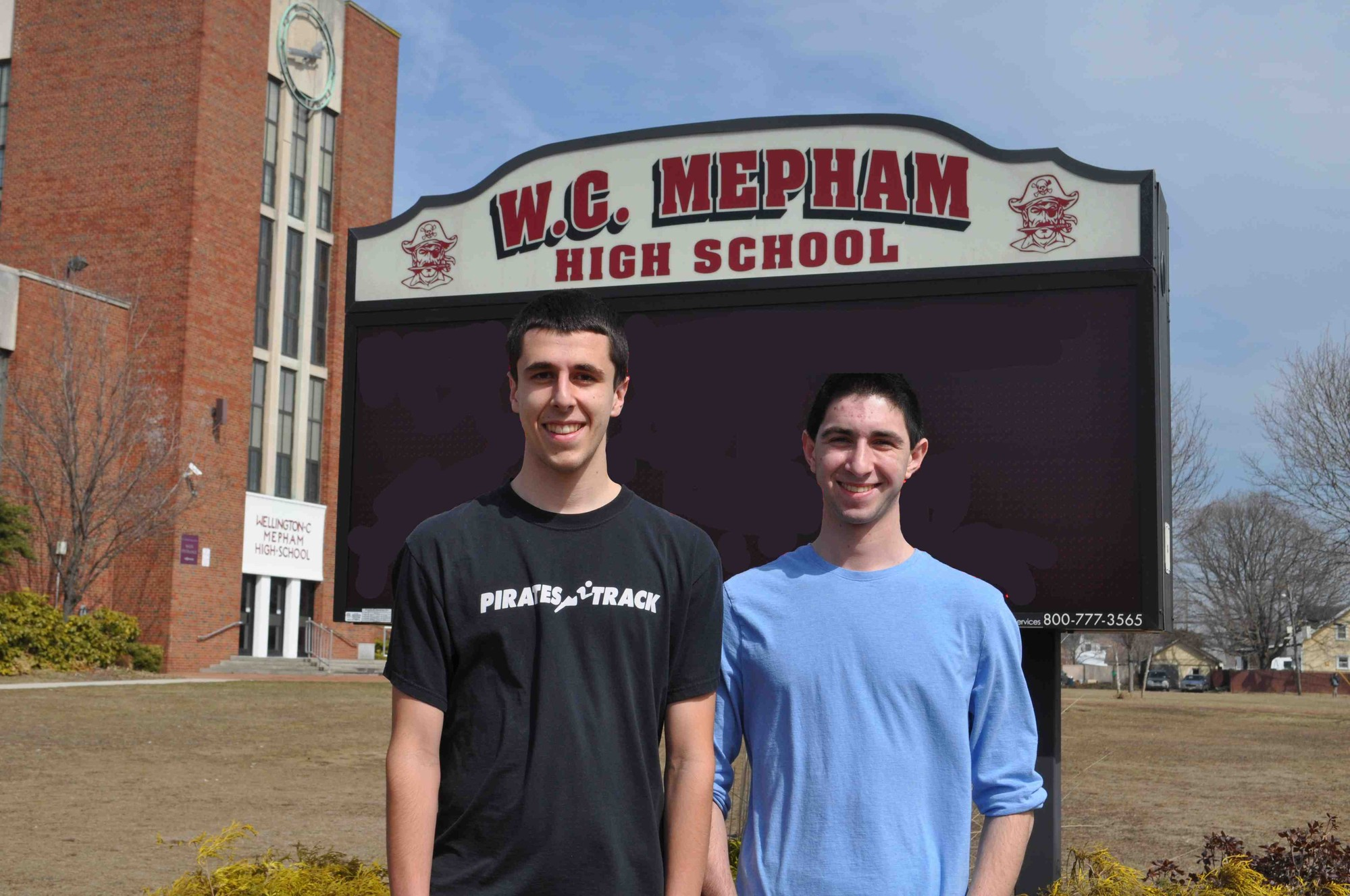 Brian Keohane and Matthew Waldmann have been recognized as Mepham High School's valedictorian and salutatorian, respectively.