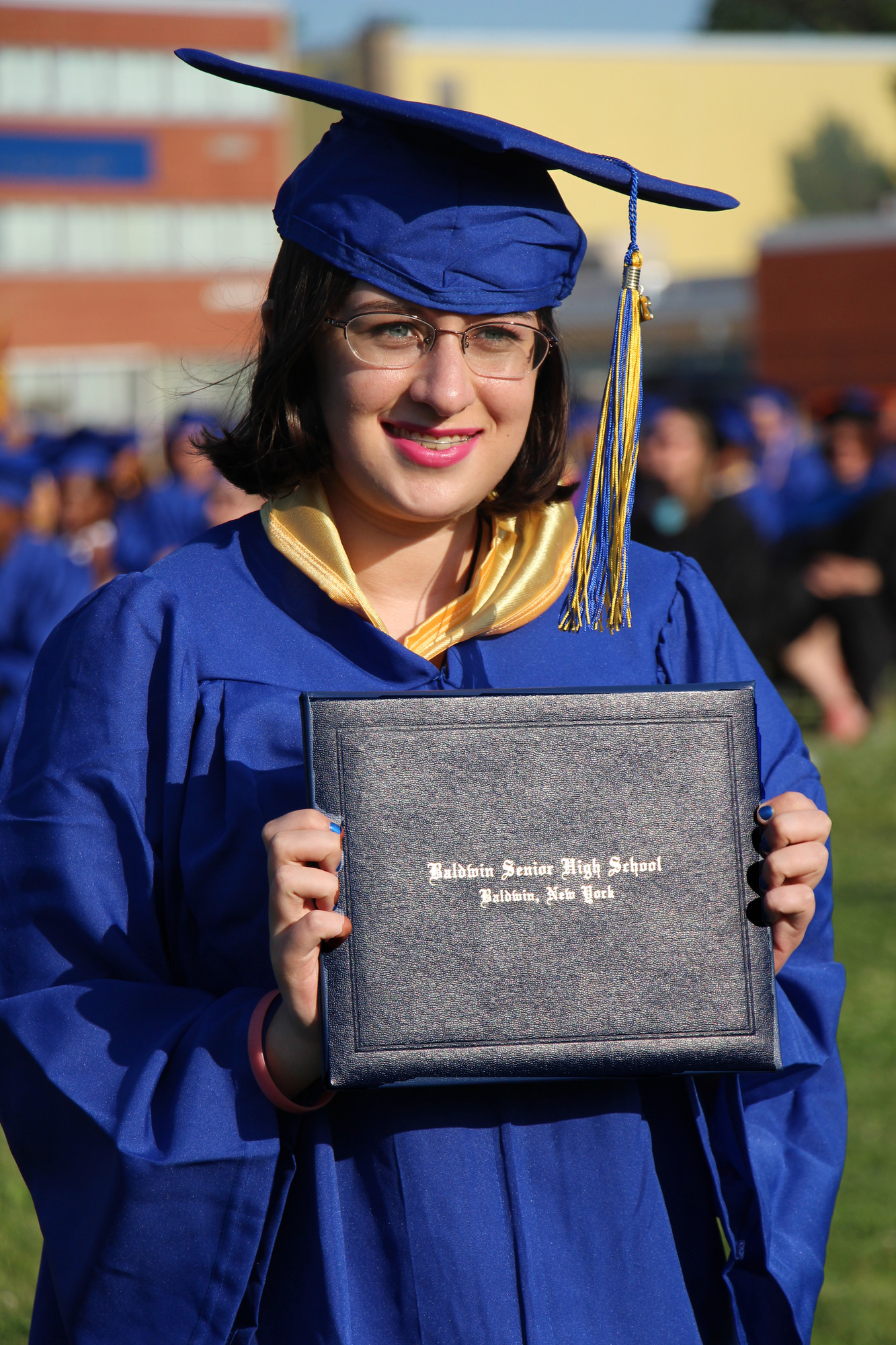 Emily Ryley received her diploma on June 27.