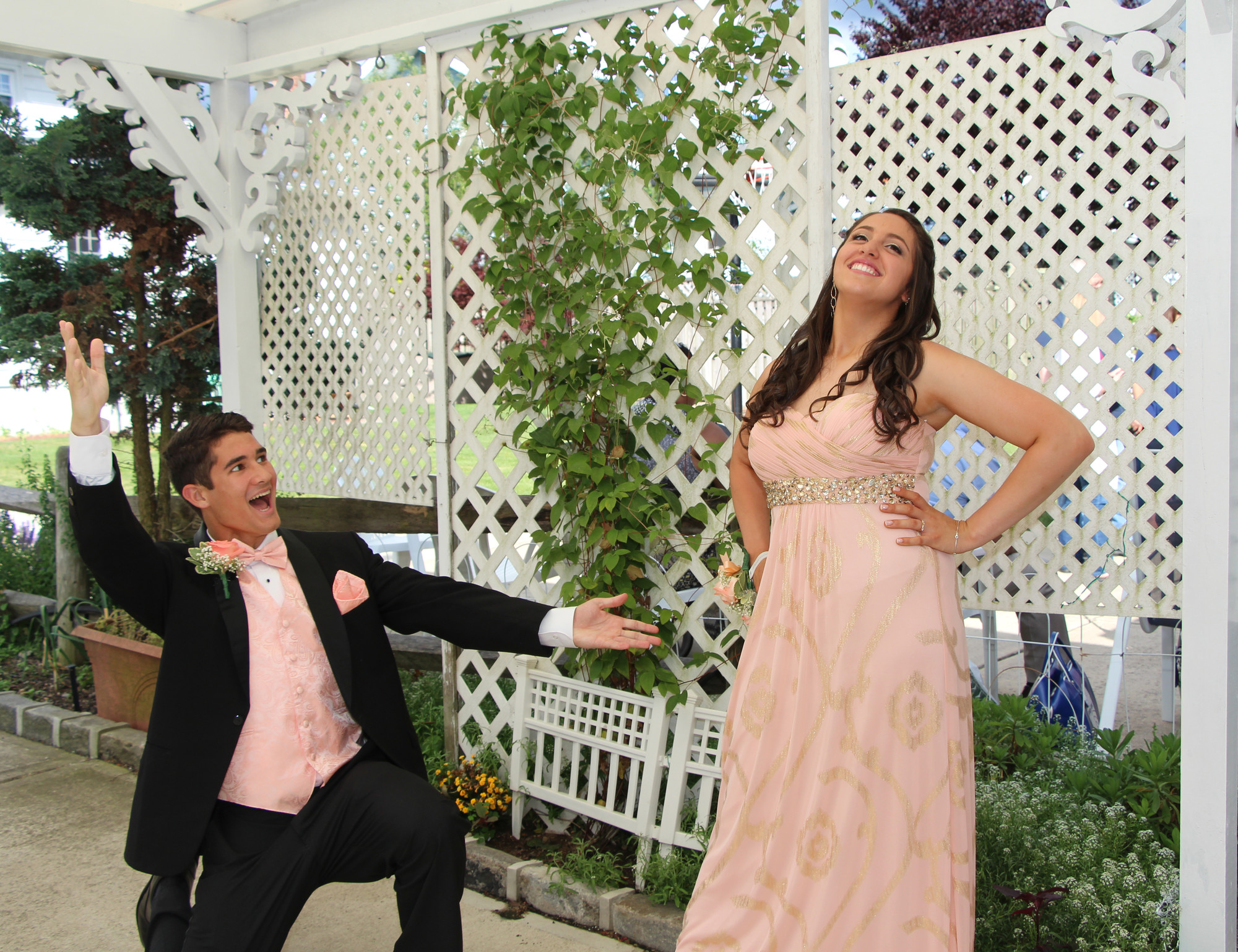 Joseph Orselli and Hannah Marrero were ready for their prom — a night of high drama.
