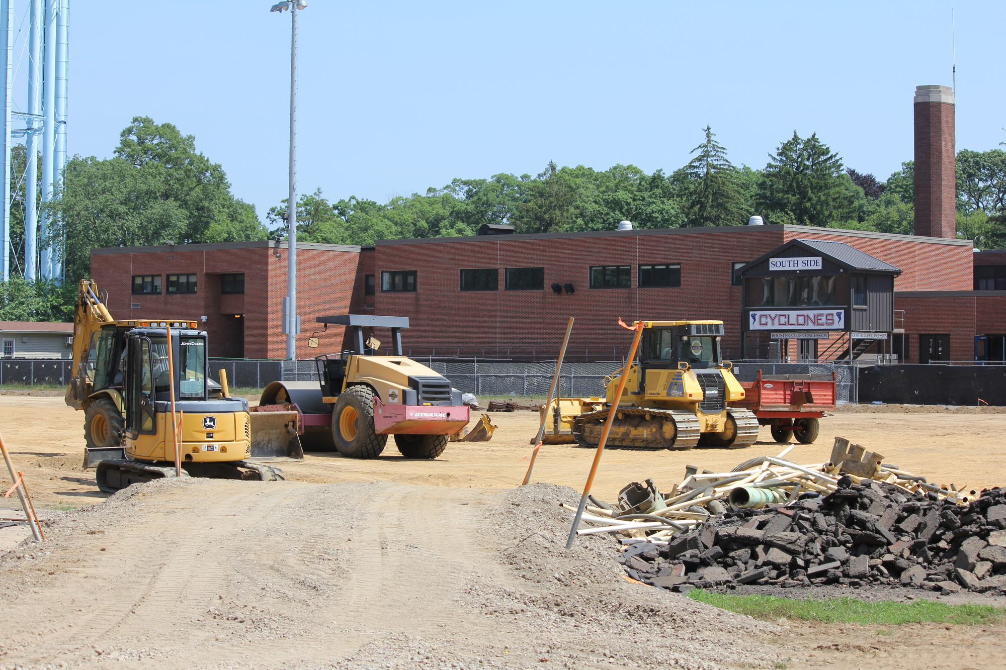 Construction of the SSHS should be completed by September.
