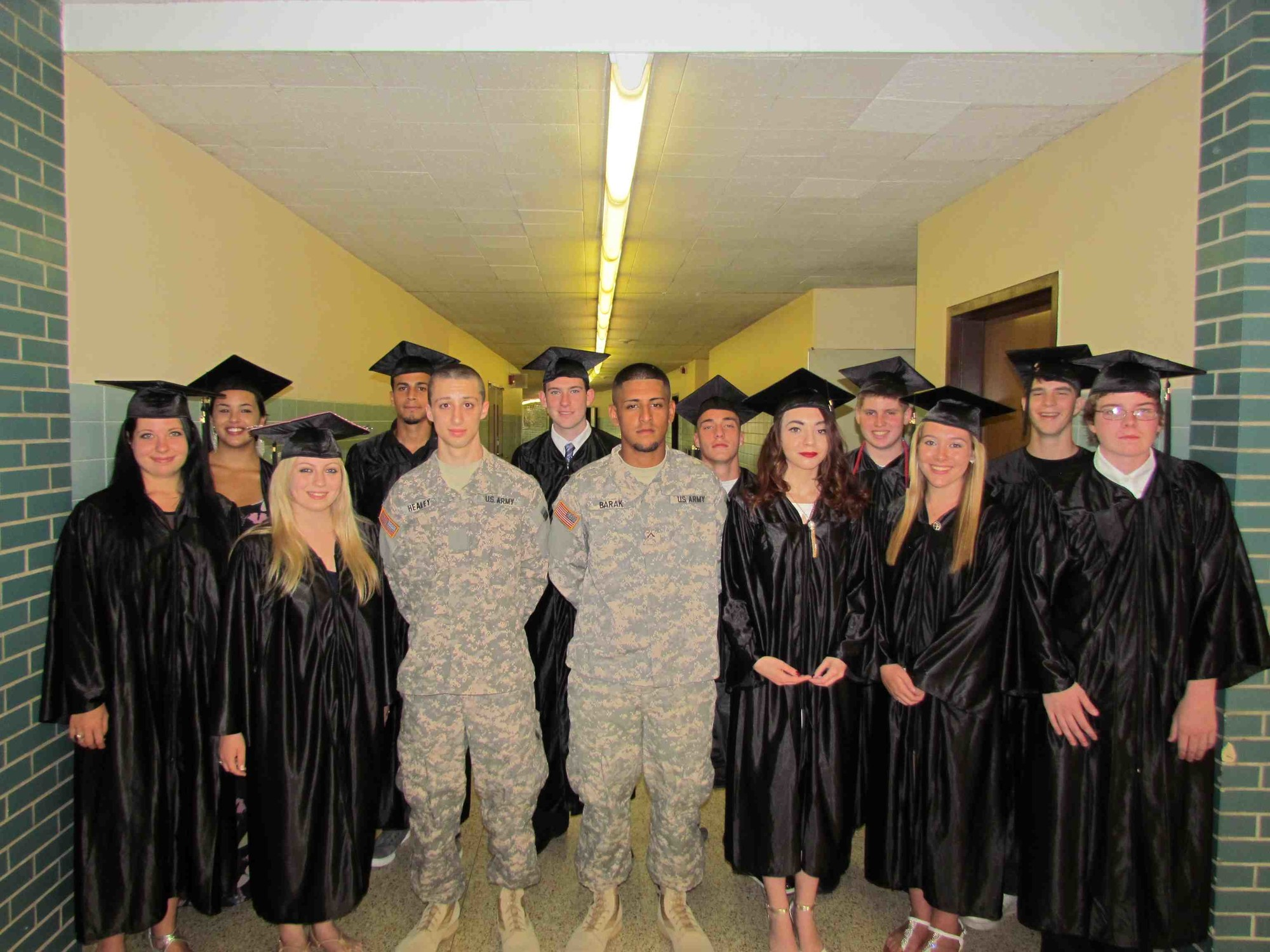 Students at the Meadowbrook Alternative Program in the Bellmore-Merrick Central High School District graduated from the program on June 23.