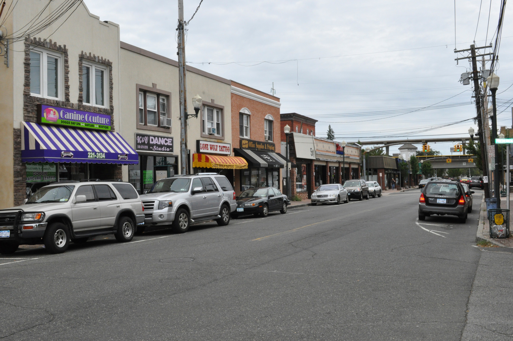 Bellmore business leaders said they fear that a possible LIRR strike would   jam up parking in the downtown area.