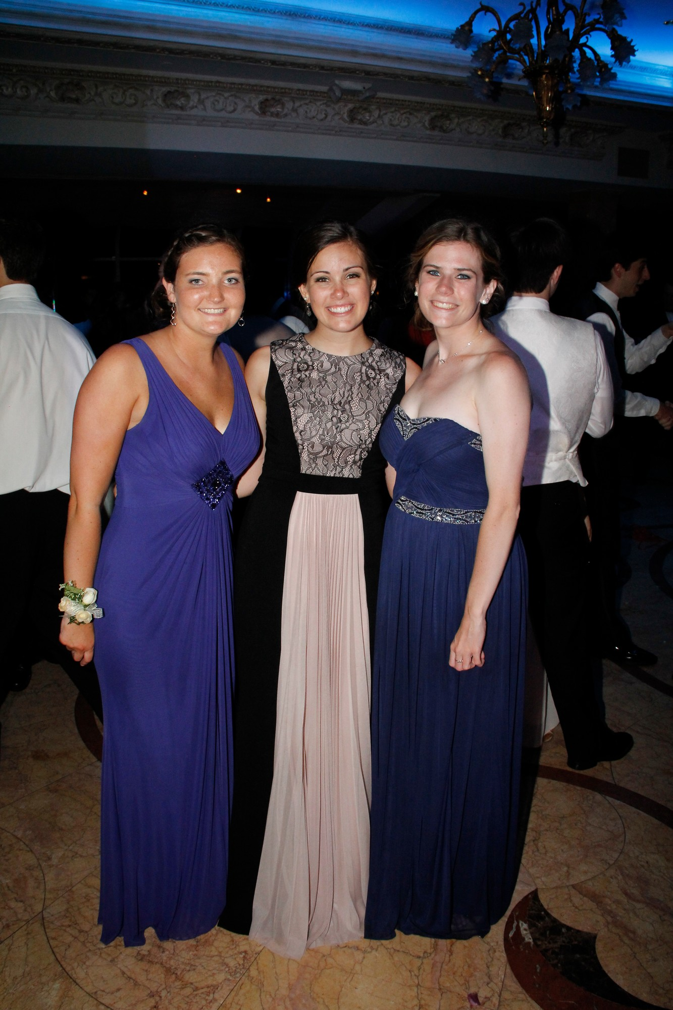 Julie Flanagan, Meghan Mullooly and Bridget Dooney
