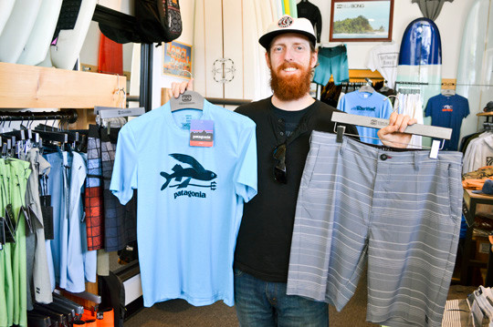 Maritime co-owner Mike Flammer showed off some of the store's best-selling products.