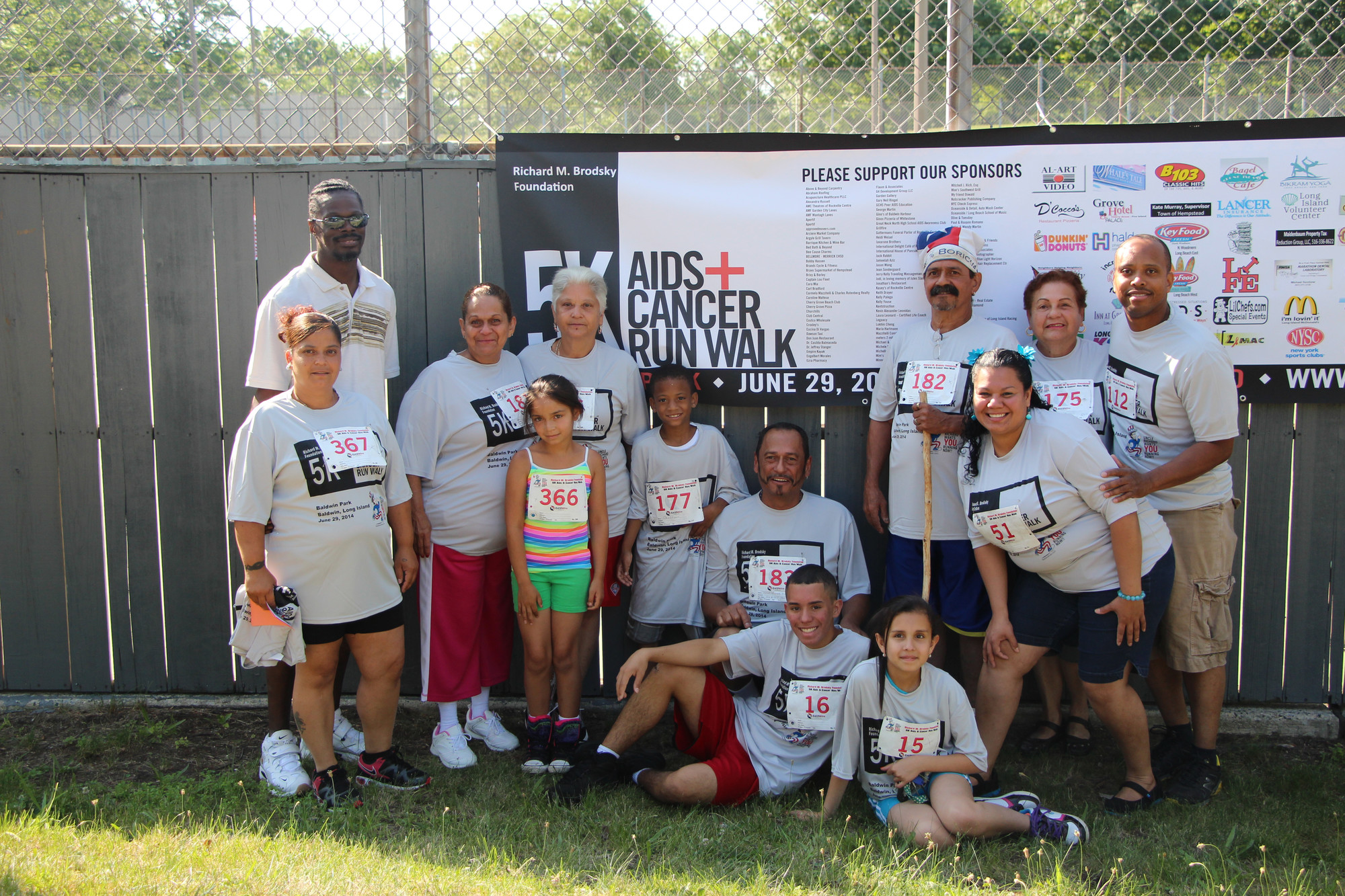 People of all ages ran and walked in the seventh annual 5K Aids/Cancer Run/Walk at Baldwin Park on June 29. The event raised thousands of dollars for toys to be purchased and donated to area hosptials and organizations that help people in need.