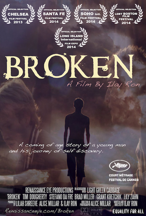 "Miller, 25, of Bellmore, plays a leading role in the short film ""Broken."" There will be a screening of the short during the Long Island International Film Expo at 7:45 p.m. on July 14 at Bellmore Movies, at 222 Petit Ave."