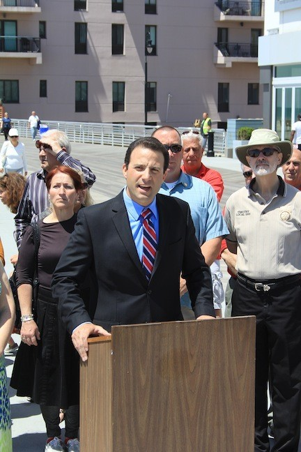 Democratic Councilman Anthony Eramo announced that he is no longer running for State Assembly.