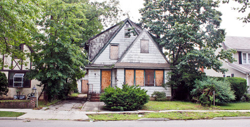 A vacant house at 109 N. Cottage St. has been an eyesore for years and has drawn the ire of neighbors and village officials alike.