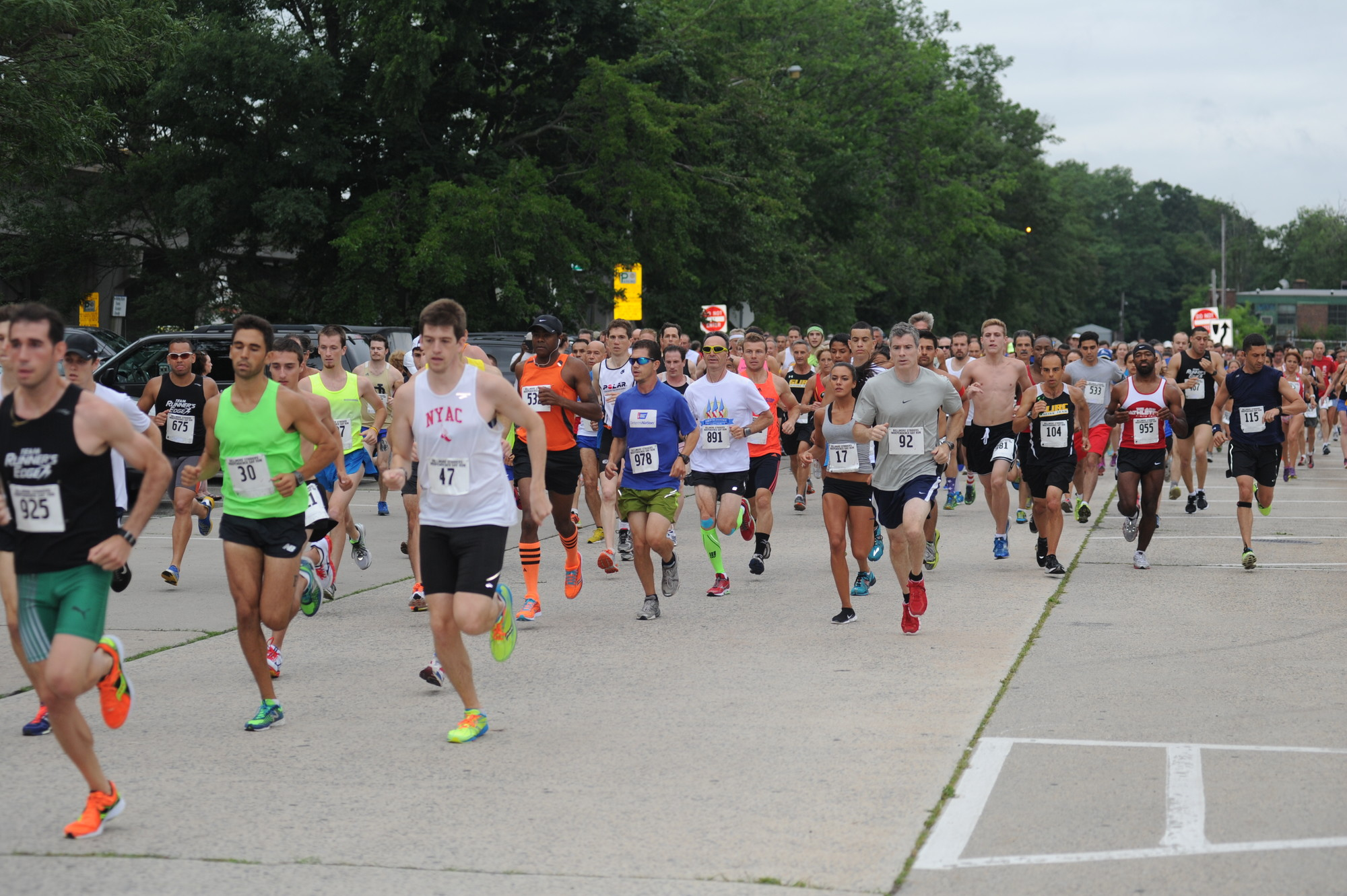 More than 500 runners took part in the 32nd annual Independence Day Run, hosted the Bellmore Striders running club.