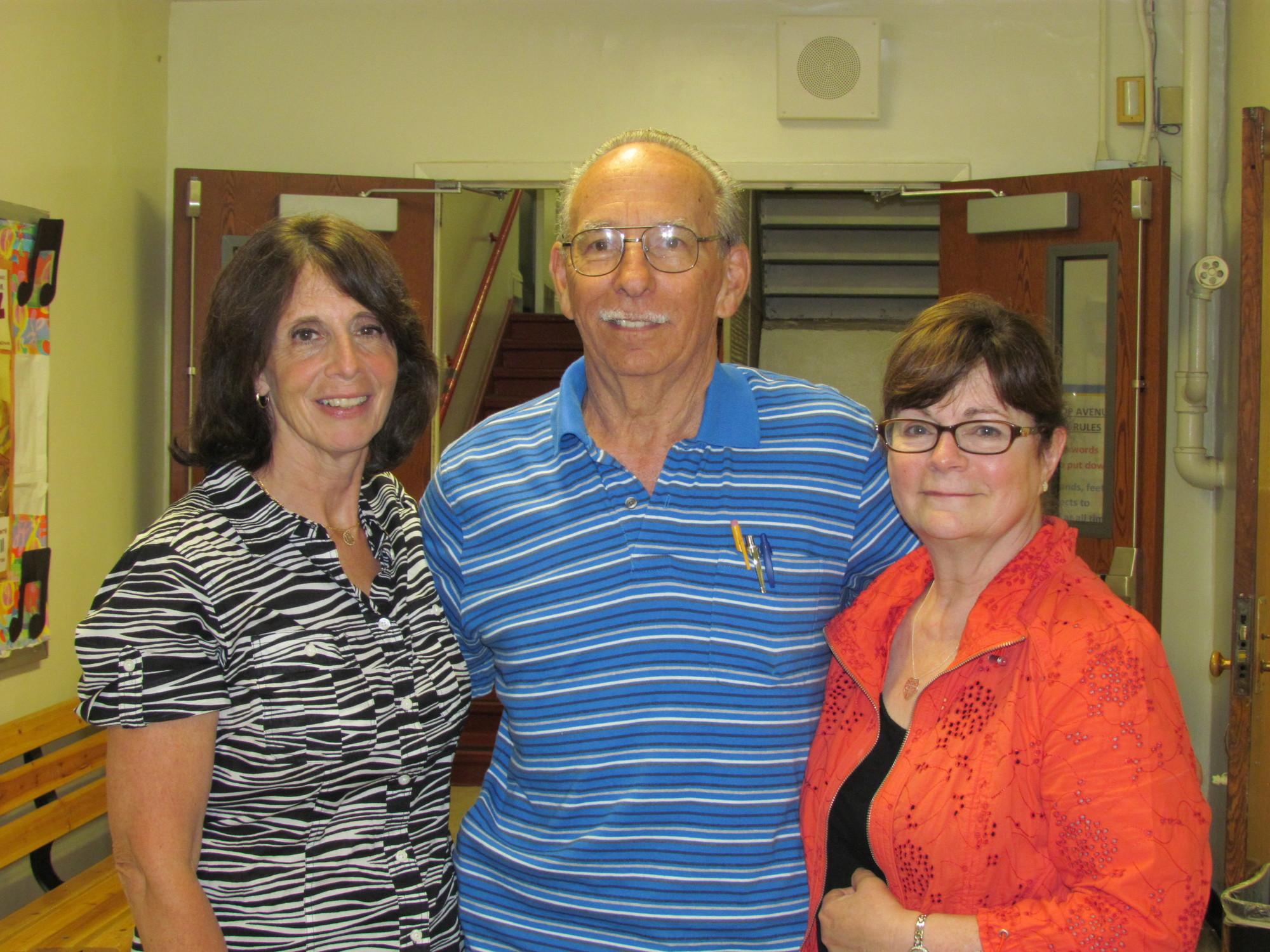 At Their JunE meeting, the Bellmore Board of Education and administration honored retiring staffers: Elissa Doppelt, Joseph Hendrickson and Karolyn Hertzberg. Patricia Hogan could not attend.