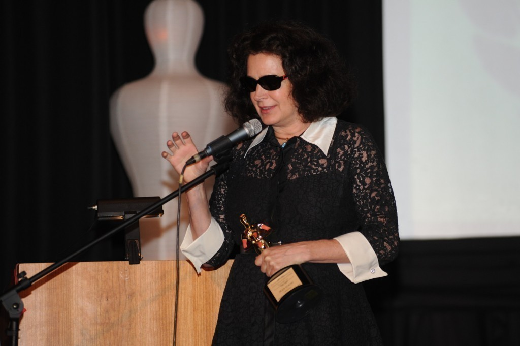"Sean Young, who is best known for her roles in ""Blade Runner"" and ""Ace Ventura: Pet Detective,"" won the Creative Achievement Award."