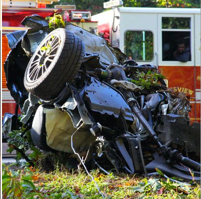 Four teens were killed in this October 2012 one-car crash. The driver. Joseph Beer, pleaded guilty to aggravate vehicular homicide on July 29.