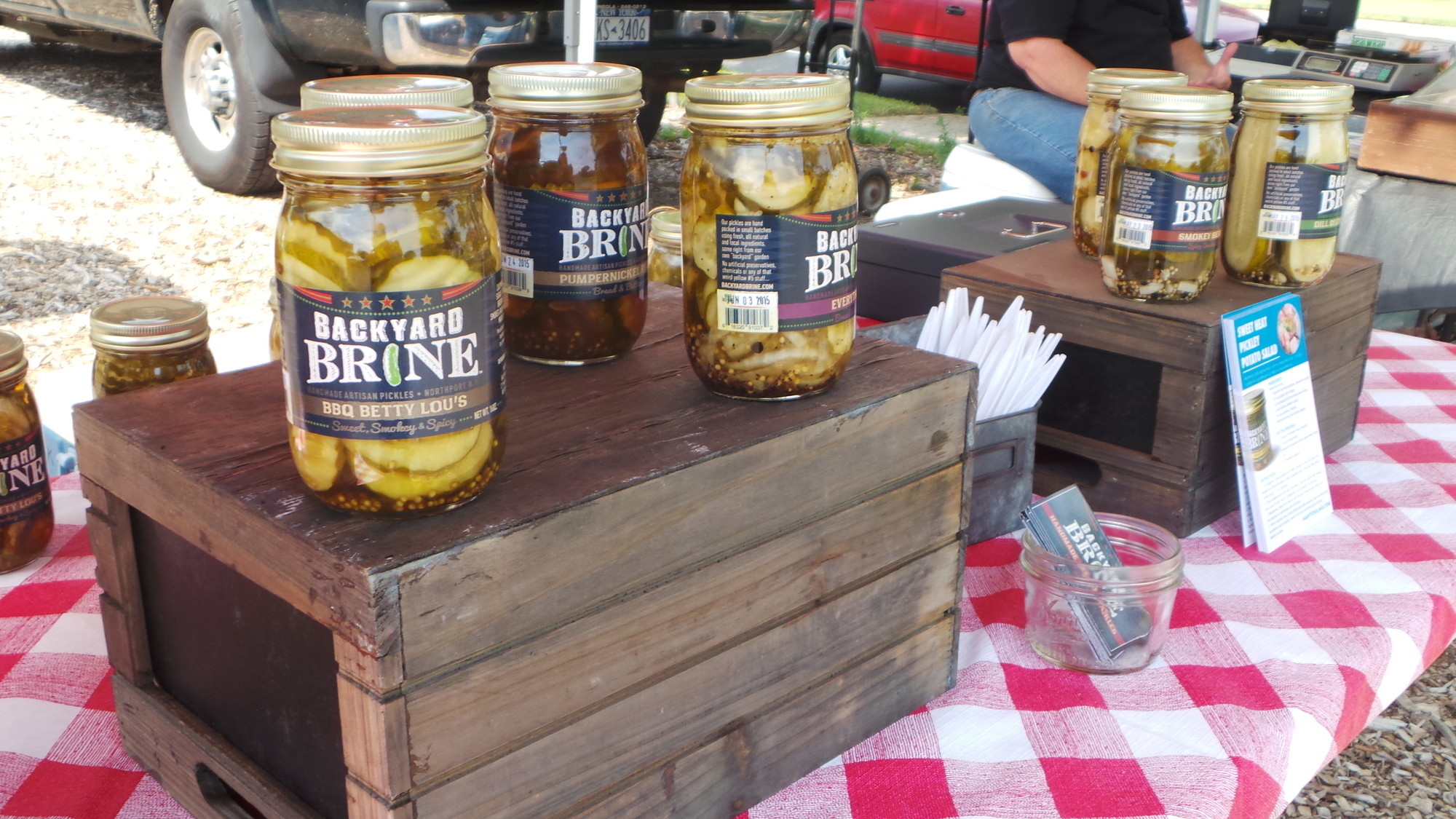Backyard Brine uses Long Island produce to make pickles from their 16 original recipes