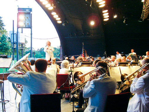 The Philharmonic will play for an enthusiastic audience at its concert on Aug. 8.