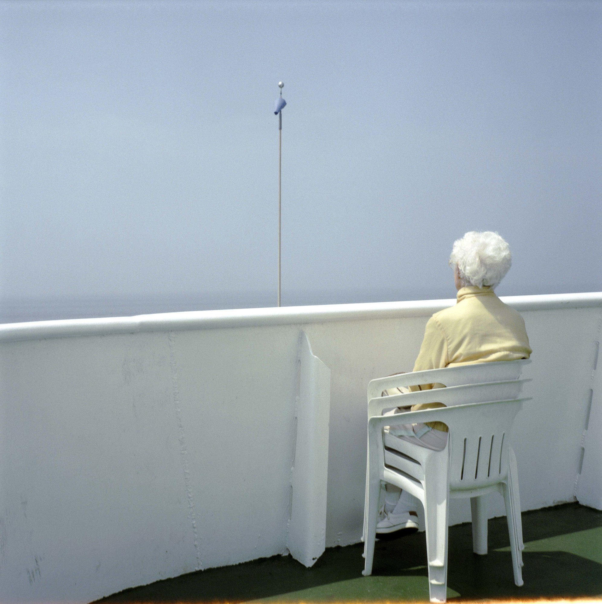 "Schwartz said this photo, called ""Ferry Trip,"" is one of her favorites in the Bellmore Memorial Library show."