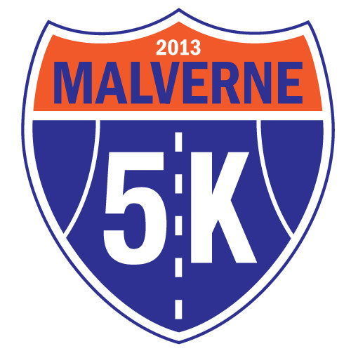 Design the face of the race for the Malverne 5K