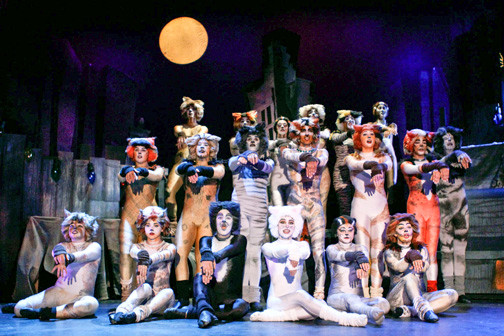 "Those fantastical felines are on the prowl in the BroadHollow Theatre Company's staging of ""Cats"" in Elmont."