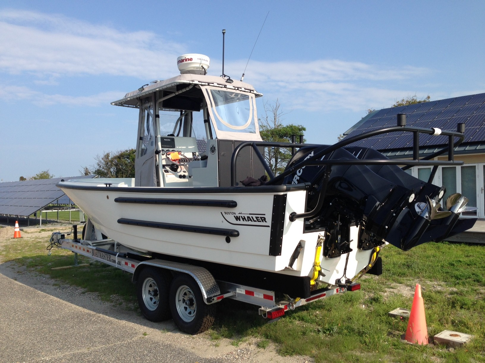 Six new patrol boats, one of which is pictured here, will be used to assist with marine law enforcement efforts on waterways throughout New York State.