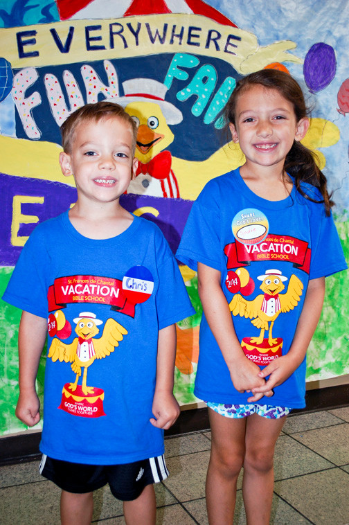 Christopher and Sadie Coppola were among the nearly 300 children who participated over the two-week program.