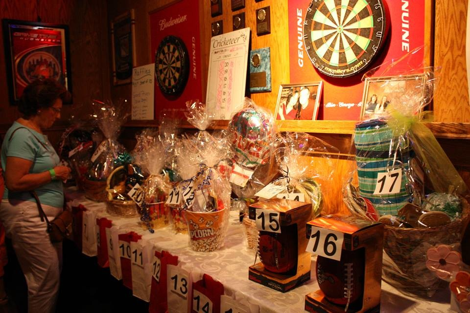More than 50 raffle prizes were available because of the generosity of the Wantagh community.
