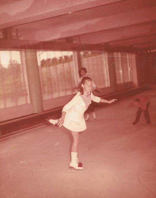 "Ice skating at Homowack Lodge in 1962 was one of many ""firsts"" Cheryl Rothenberg Chaves experienced during her summers in the Catskill Mountains."