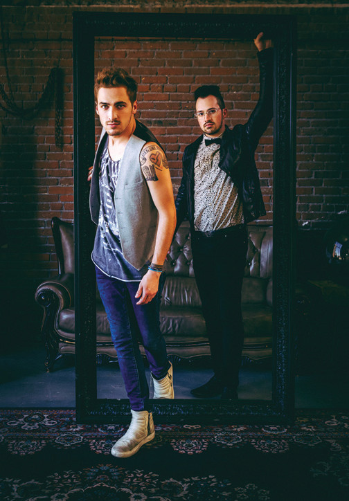 Big Time Rush collaborators Kendall Schmidt and Dustin Belt perform in Rockville Centre this weekend.