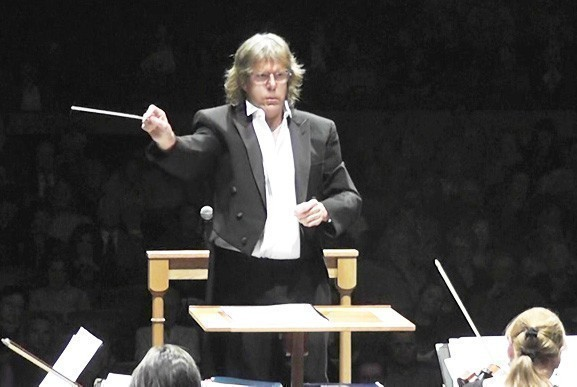 "Rock legend and composer Keith Emerson will conduct ""Glorietta's Pass"" with the South Shore Symphony at the Madison Theatre next week."